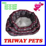 Bases baratas elevadas do animal de estimação do gato do cão do Snuggle de Quaulity (WY161074-1A/C)