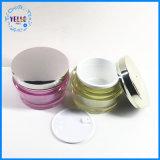 Venda a quente Luxury 100g contêiner plástico de embalagem de cosméticos de acrílico