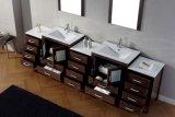 Moderne doppelte Wanne MDF-Badezimmer-Schränke