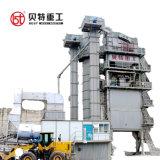 Het Mengen zich van het asfalt Machine met de Overzee Dienst