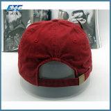 gorra de béisbol de encargo 100% del algodón del sombrero del Snapback de la insignia del bordado 3D