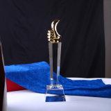 Novo design de alta qualidade Crystal Awards Oscar Trophy Business Gift