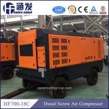 Hf700-18c 디젤 엔진 Portable 18bar 건조기 나사 공기 압축기