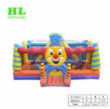 De grappige Koning Opblaasbare Funcity van de Clown van het Pretpark