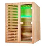 Zaal van de Sauna van de Natte Stoom van Monalisa de Houten Droge (m-6038)