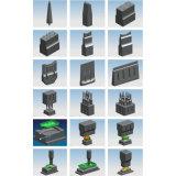 Beweglicher Ultraschall Belüftung-Plastikschweißgerät für ABS/PC/PVC/Ny