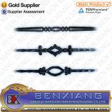 錬鉄の金属によって電流を通された防犯ゲートのバルコニーのBalusterは棒を造った