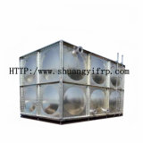 Réservoir d'eau soudé ou boulonné d'acier inoxydable