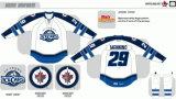 Hokey di ghiaccio americano personalizzato delle calotte polari 2011-2017 della st Johns della Lega di Hockey dei capretti delle donne degli uomini Jersey