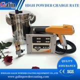 Galin/Gema Drei-Stücke Puder-Spray/Farbanstrich-/Beschichtung-Maschine Optf (Controller-/Steuereinheit CG07 + Gewehr GM02+ 10L Zufuhrbehälter-/Puderwanne)