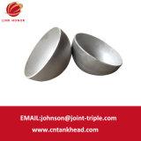 07-02 piccola estremità emisferica dell'acciaio inossidabile per la protezione di estremità del tubo ID800mm*6mm