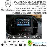 Vshauto Eightcore Android8.1 alquiler de DVD de audio para B200 Benz Vito 2004-2012