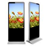 床の立場のアンドロイド6.0 4K LCDスクリーンのUltraslimデジタルのキオスクの表記