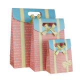 Свадебные конфеты подарочный бумажный мешок с лентой (YH-PGB111)