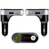 Pantalla digital LED coche reproductor de MP3 transmisor FM Bluetooth manos libres