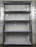 Entrepôt de stockage réglable en acier rayonnages légers de l'angle fendu