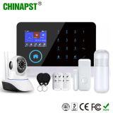 Accueil de sécurité sans fil WiFi GSM alarme avec une caméra IP (PST-WG103)
