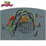 Strumentazione del campo da giuoco del blocco per grafici di scalata della corda per i giocattoli dei giochi di forma fisica di ginnastica di asilo dei bambini con il prezzo poco costoso
