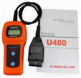 U480 OBD2はエンジンコード読取装置U480コード読取装置U480 OBD2 Obdii車をバスで運ぶか、または自動診断エンジンのスキャンナーをトラックで運ぶことができる