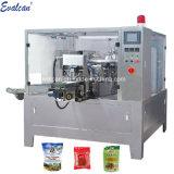 회전하는 Eelectronic 곡물 단단한 액체 풀 분말 주머니 채우는 패킹 가루 향미료 설탕 Doypack 포장 기계
