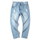 Jeans van de Vrije tijd van de Broeken van het Denim van de Broek van Men S de Losse Toevallige Modieuze