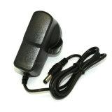 플러그 LED 가벼운 접합기를 가진 UK 5.5*2.5mm 전원 플러그 직류 전원 코드