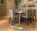 Pavimento secco ed umido di Microfiber della maniglia dell'acciaio da utensili di pulizia che pulisce Mop piano