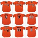 Bj Surhoff Frank Robinson Mike Mussina Baltimore Retour Baseball Jersey