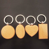 싼 주문 금속 나무로 되는 인쇄 로고 숟가락 Keychain