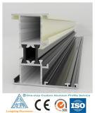 6063 Perfil de extrusión de aluminio para puertas y ventanas de aluminio