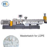 Granelli di plastica di Masterbatch della pellicola che fanno la macchina dell'espulsore di HDPE/LLDPE /LDPE