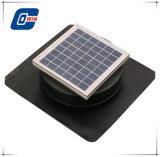 6W, buen precio Solar Panel Solar Powered Fan ático con DC Motor de cepillo