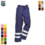 Hi Vis отражает работу мужские брюки груза