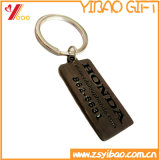 De Douane Antieke Messing Geplateerde Keyholder van de Gift van Yibao van, Keychain, Sleutelring, de Gift van de Bevordering (yb-KH-422)