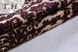 2017 больших цветков Brown ткани синеля сделанных в китайском Manufactory