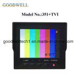 """3.5 """" AVの入力が付いているCCTV LCDのモニタ"""
