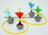 Пользовательские цвета сад мини газон дартс игра с 4 Color-Coded Дартс