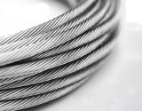 гальванизированная 6*19FC поднимаясь веревочка стального провода