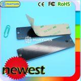 Entorno robusto UHF RFID EPC GEN2 pasivo en etiqueta de metal