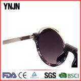 Ynjn New Style Unisex Half Frame Round Óculos de sol