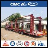 Cimc Huajun 9台の車自動車運搬船のトレーラー
