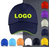 Boné Branco promocional para o design do logotipo personalizado