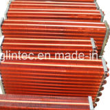 Condensatore delle alette del rame del tubo del rame del blocco per grafici dell'acciaio inossidabile