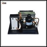 조밀한 작은 물 냉장계를 위한 DC 압축기를 가진 물에 의하여 냉각되는 액체 냉각장치