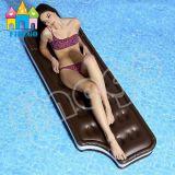 قابل للنفخ سباحة شوكولاطة برمة عوّامة أريكة ردهة سرير عوّامة لعبة