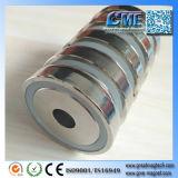 Магнит бака магнита чашки магнита 60mm бака неодимия сильный