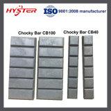 Weißes Eisen haltbare Chocky Stab-Abnützung-Blöcke für Bergbau