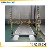 El mantenimiento auto del coche de 4 pilares levanta la elevación simple auto del garage de estacionamiento de cuatro postes