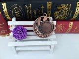 Medaglia d'ottone in bianco in lega di zinco di sport del metallo del premio di produzione dei mestieri del metallo con il nastro