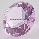 80мм Большой хрустальное стекло Diamond на сувениры